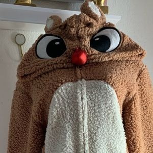 Rodolfo the reindeer pajamas
